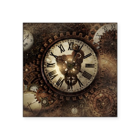 Vintage Steampunk Clocks