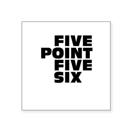 white - five point five six