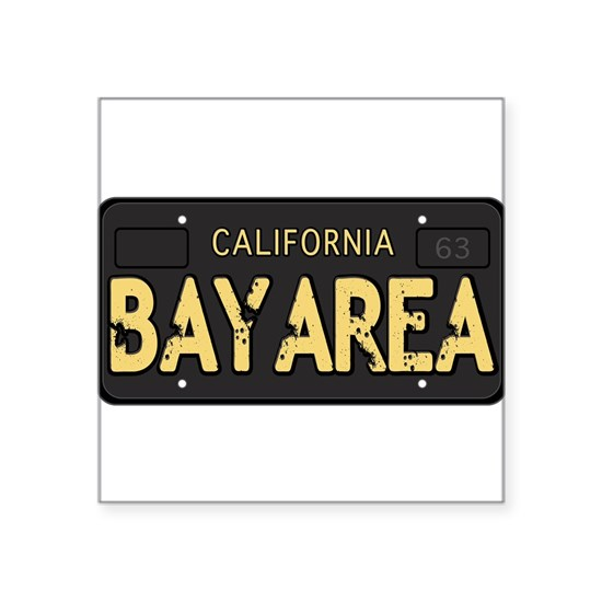 Bay Area calfornia old license