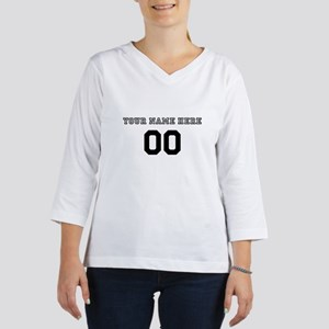 Personalized Baseball 3/4 Sleeve T-shirt