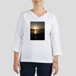 Sunrise at the bridge 3/4 Sleeve T-shirt