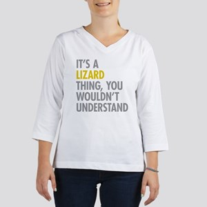 Its A Lizard Thing 3/4 Sleeve T-shirt