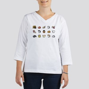 Neko Atsume 3/4 Sleeve T-shirt