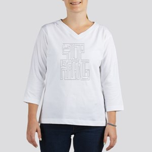 Stop Hating Maze 3/4 Sleeve T-shirt