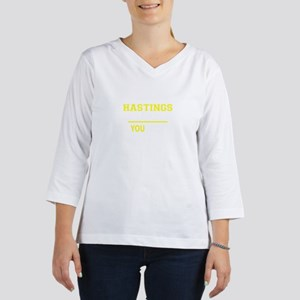 HASTINGS thing, you wouldn't un 3/4 Sleeve T-shirt