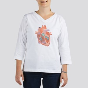 Heart, artwork 3/4 Sleeve T-shirt