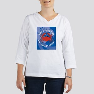 Dont Annoy Me Stadium Blanket 3/4 Sleeve T-shirt