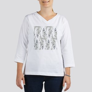 Beautiful Feathers Women's Long Sleeve Shirt (3/4