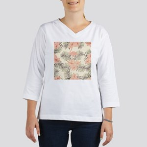Vintage Flamingo 3/4 Sleeve T-shirt