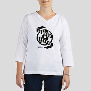 Avengers Endgame Black Logo 3/4 Sleeve T-shirt