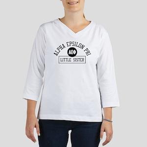 Alpha Epsilon Phi Little Athlet 3/4 Sleeve T-shirt