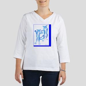 flying tigerscard 4x6 3/4 Sleeve T-shirt