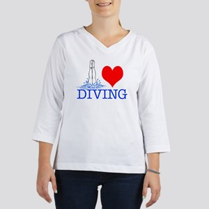 DIVINGsq 3/4 Sleeve T-shirt