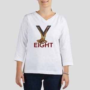V8 ENGINE 3/4 Sleeve T-shirt