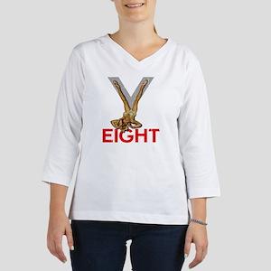 V8 ENGINE DARK copy 3/4 Sleeve T-shirt
