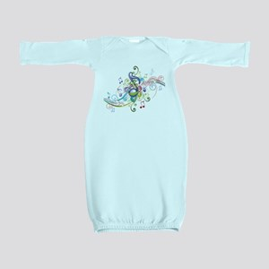Music in the air Baby Gown