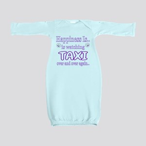Happiness is Watching Taxi Baby Gown