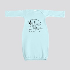 Music is Me Baby Gown