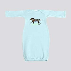 Indian Horse Baby Gown