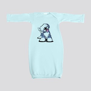 Curious OES Baby Gown