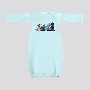 Usual Suspects Baby Gown