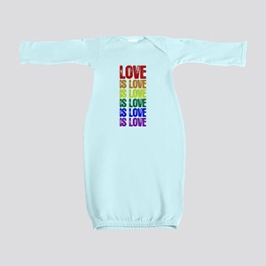 Love is Love is Love Baby Gown