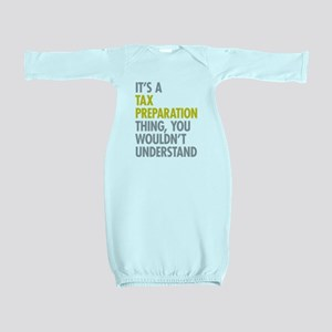 Tax Preparation Baby Gown