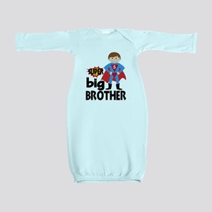 Big Brother Superhero Baby Gown