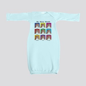 Many Moods Baby Gown