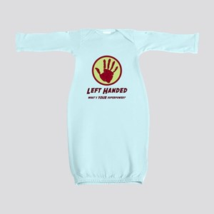 Left Handed Super Power Baby Gown