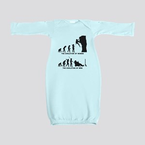Rock Climbing Baby Gown