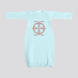 Sniper Target Shot Baby Gown
