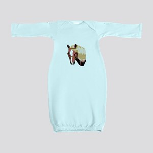 Haflinger Horse Baby Gown