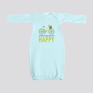 Makes You Happy Baby Gown
