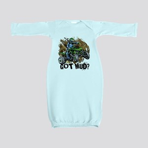 Got Mud ATV Quad Baby Gown