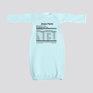 Jesus Facts Baby Gown