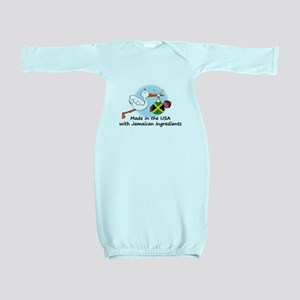 Stork Baby Jamaica USA Baby Gown