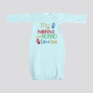 Nonna and Nonno Love Me Baby Gown