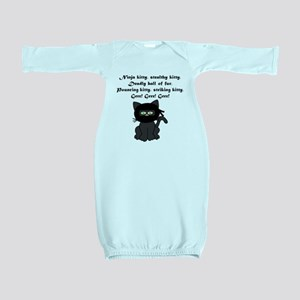 Ninja Kitty Baby Gown