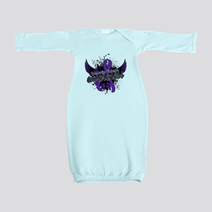 Domestic Violence Awareness 16 Baby Gown