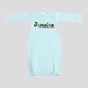 Jamaica No Problem Baby Gown
