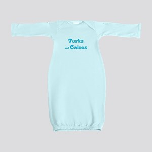 Turks and Caicos Baby Gown