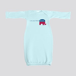 Mister RIGHT Baby Gown