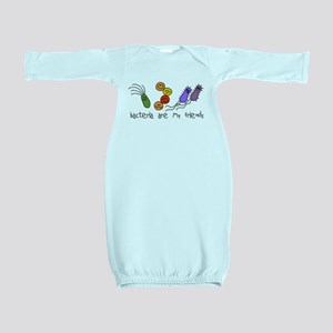 bacteria friends LT Baby Gown