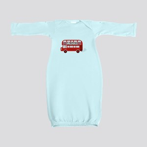 London Double Decker Baby Gown