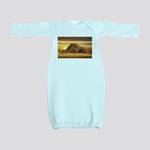 Egyptian pyramids Baby Gown