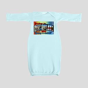 432c1b36 Cincinnati Tees Baby Gowns - CafePress