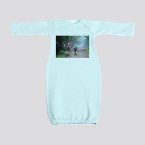 I walked El Camino, Spain, walkers 3 Baby Gown