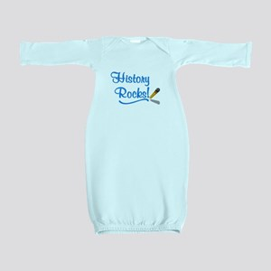 History Rocks Baby Gown