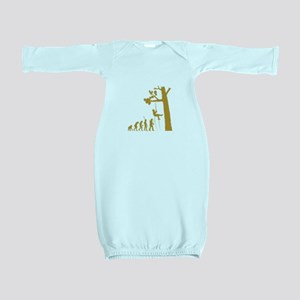 Tree Climber Baby Gown